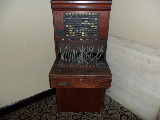 Hampton Inn & Suites Montgomery-Downtown: Antique Switchboard used in the Grey Stone hotel