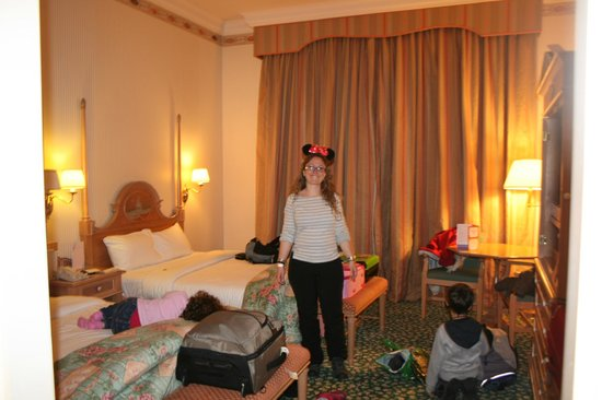 Disneyland Hotel: Con muchas ganas