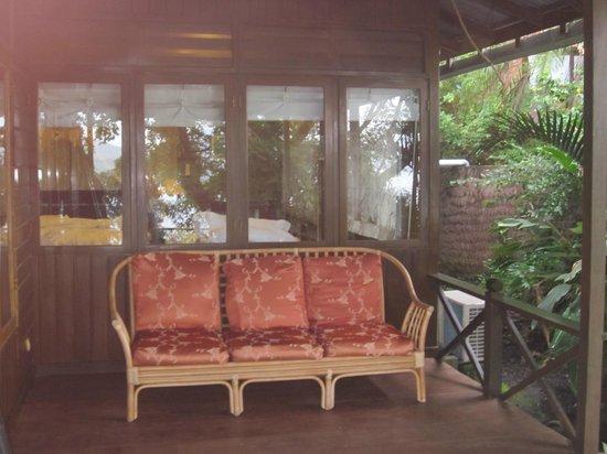 Lembeh Resort: Side porch #3B