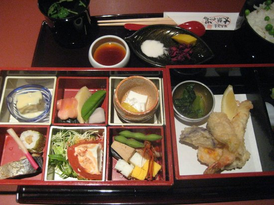Kobé, Japon : お食事所にて