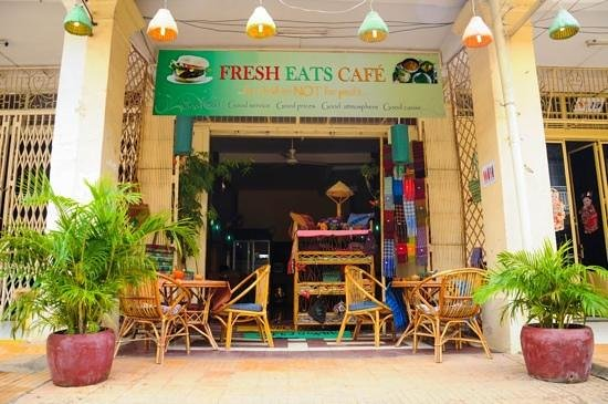 Front of Fresh Eats Cafe, Nov 2012