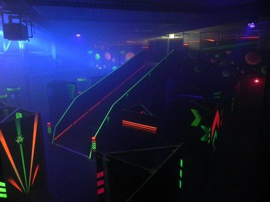 LaserGame Biel/Bienne: over 400m2 game area