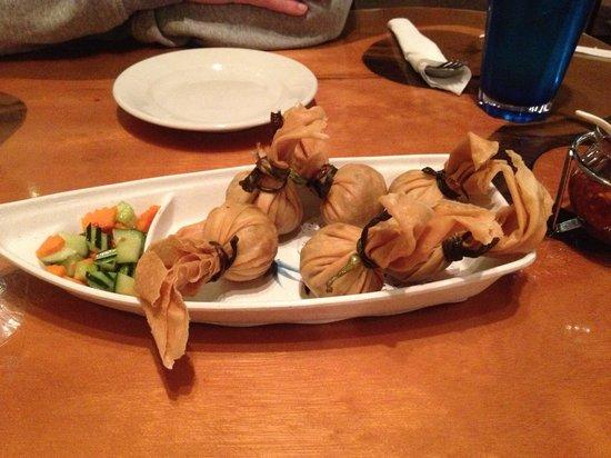 Siam Spice: golden dumplings