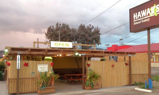 Hawaii's Island Eatery: front of restaurant