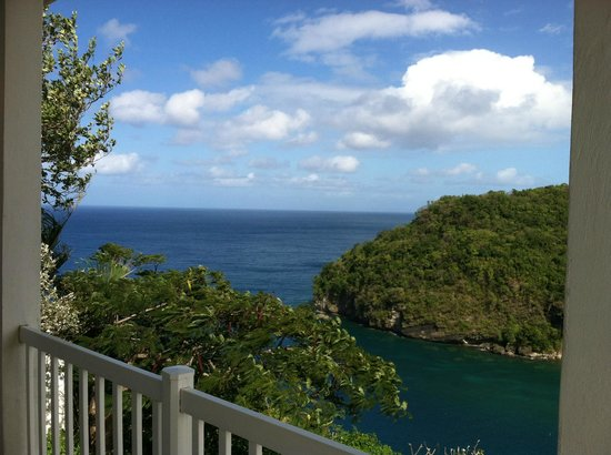 The Inn On The Bay: Looking toward Martinique