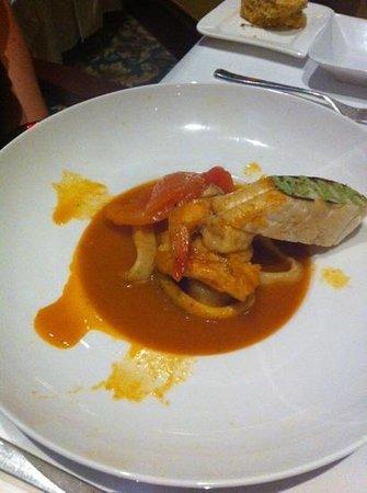 Gustino: суп из морепродуктов