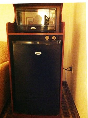 Best Western Plus Marion Hotel: Microwave and large refrigerator in suite