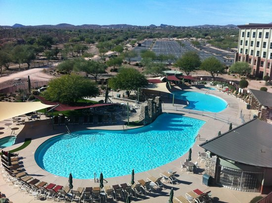 We-Ko-Pa Resort & Conference Center: View of the pool from our room
