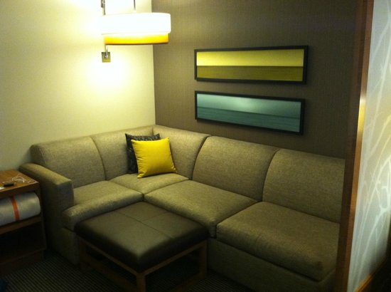 Hyatt Place Delray Beach: Entertainment/Seating Area