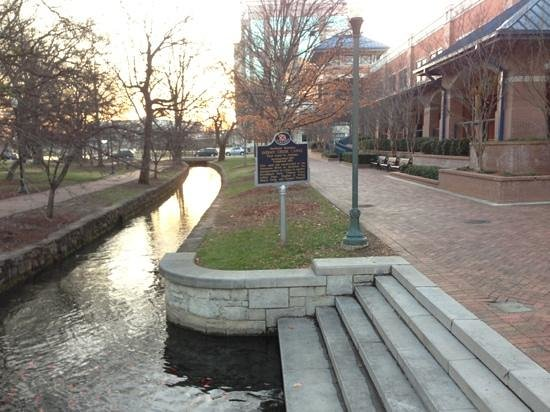 Canal Walkway in Big Spring Park