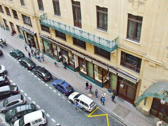 Hotel Paris Prague: A view from the room No. 409