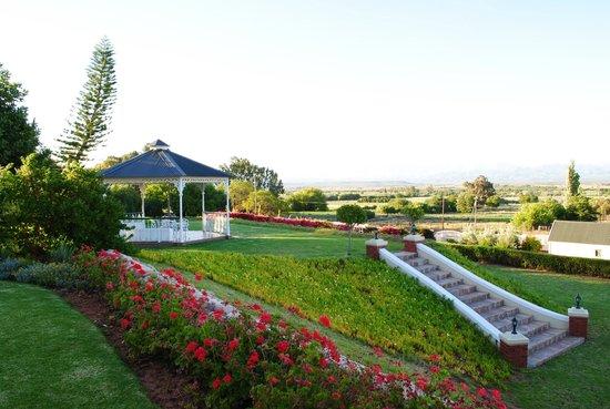 La Plume: Jardín