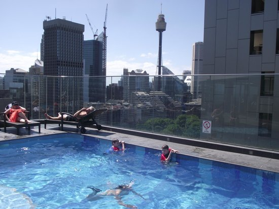 ‪‪Pullman Sydney Hyde Park‬: Great views from Rooftop Pool