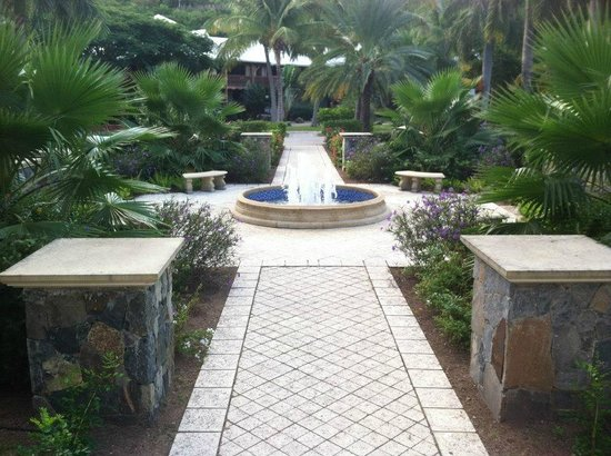 Hotel Riu Palace St Martin: courtyard