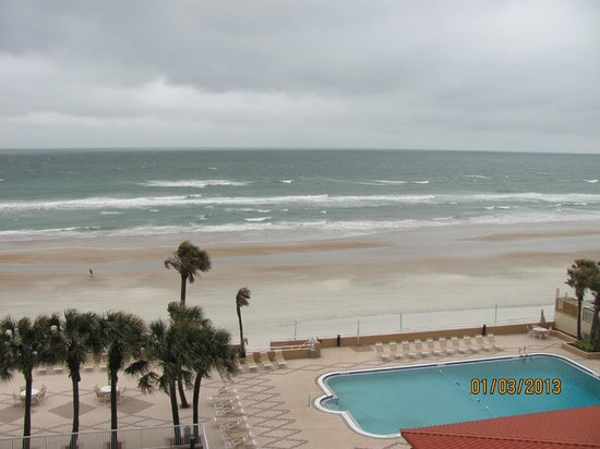 Holiday Inn & Suites Daytona Beach on the Ocean: Part of the view from Room 616