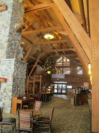 "Hope Lake Lodge & Conference Center: The ""lobby"""
