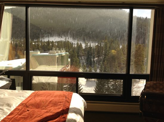 Keystone Lodge & Spa: room with a view