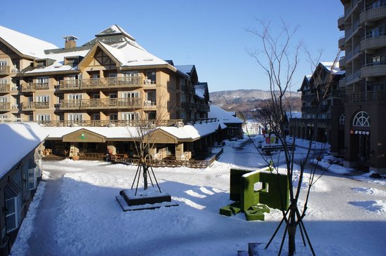 Holiday Inn and Suites Alpensia Pyeongchang Suite: We spent much time playing with snow on the balcony ;)