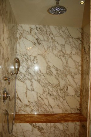 Four Seasons Hotel Firenze: Walk In Shower