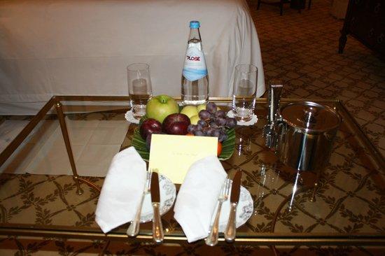 Four Seasons Hotel Firenze: Welcome Gift