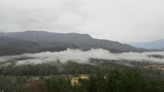 Deer Ridge Mountain Resort: View from the room. 
