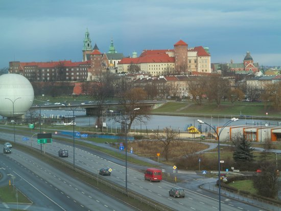 Hilton Garden Inn Hotel Krakow: view from the hotel