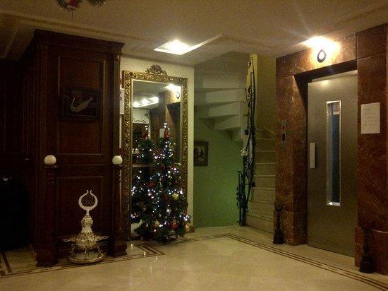 Emine Sultan Hotel: ロビー