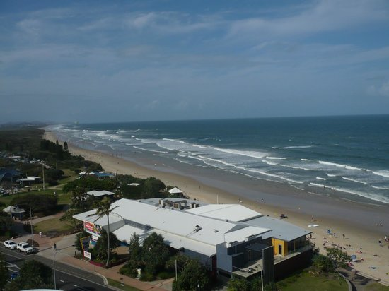 Coolum Caprice Luxury Holiday Apartments: View from unit