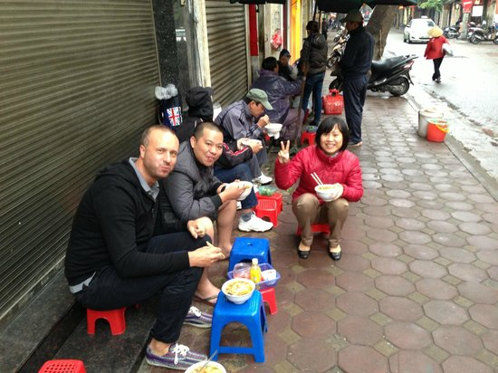 Breakfast with Luxury Hotel staff