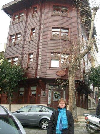 Emine Sultan Hotel: вид отеля