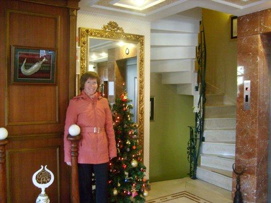 Emine Sultan Hotel & Suites: ресепшн-холл