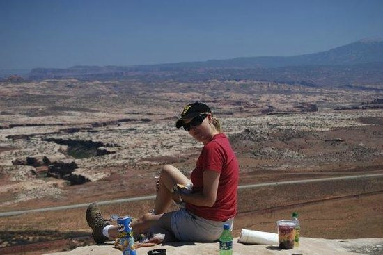Big Horn Lodge : Relaxing in Moab
