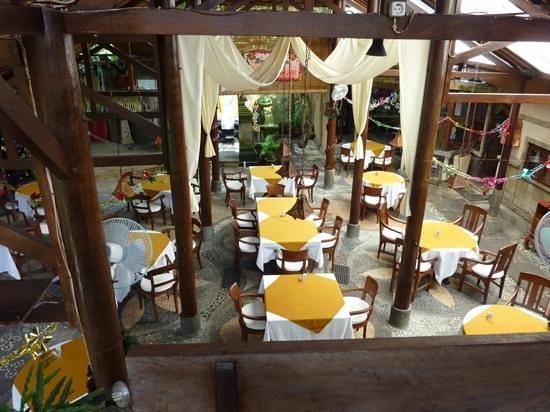 Tamukami Hotel: Restaurant area