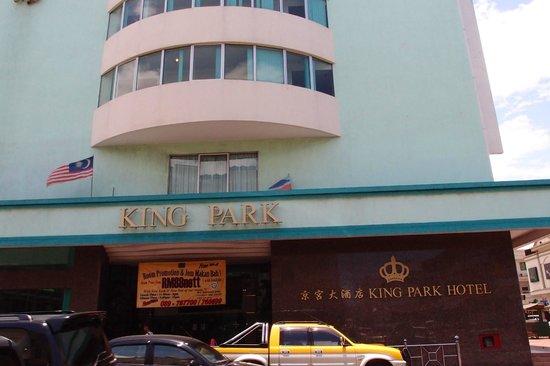 King Park Hotel Tawau : entrance