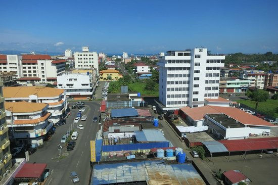 King Park Hotel Tawau : view from room