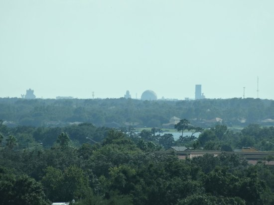 Crowne Plaza Orlando - Universal Blvd: View from room, Disney in distance