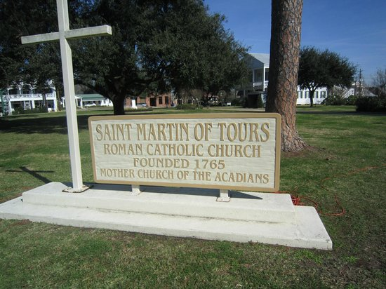 Church of St Martin de Tours: Sign in front of this historic Church