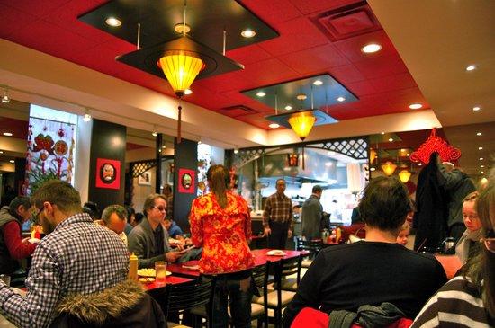 Dumpling House: Inside of the restaurant