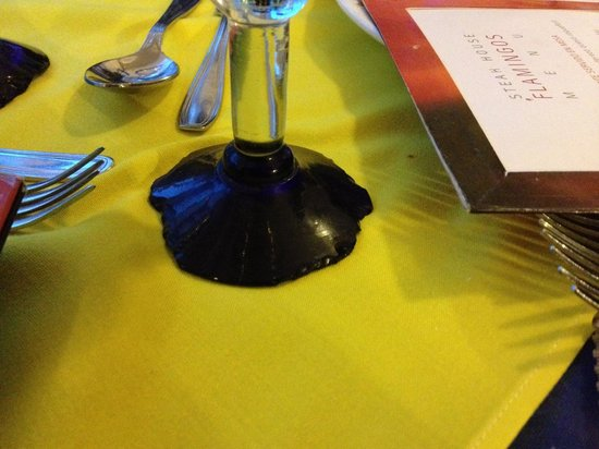 Hotel Riu Vallarta: Wine Glass at Steak House