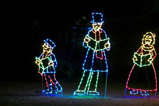Meadowlark Botanical Garden: Holiday light display