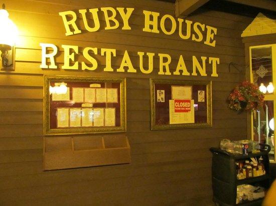 Ruby S Fast Food Website