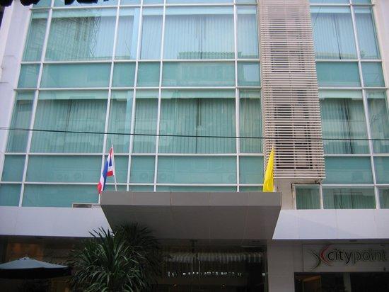 CityPoint Hotel : Hotel facade