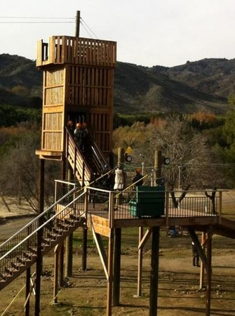 Ventura Ranch KOA: zip lining available - 2x - $20! (Saturdays)
