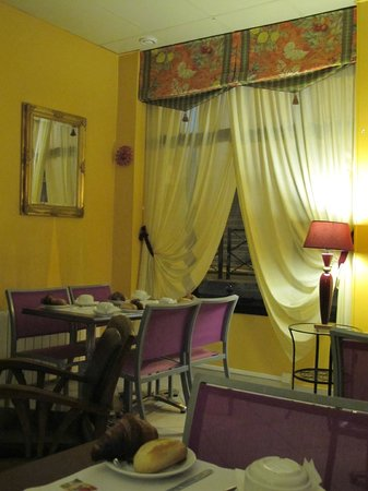 Hotel du Midi Gare de Lyon : The breakfast room again