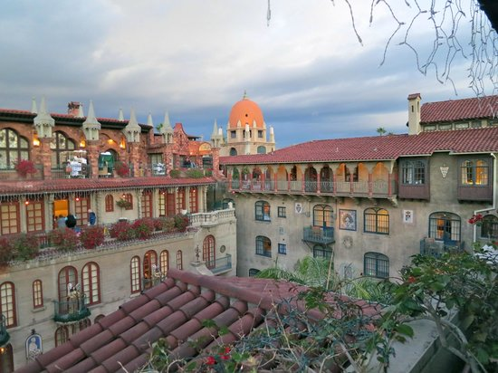 The Mission Inn Hotel and Spa: View from the top floor
