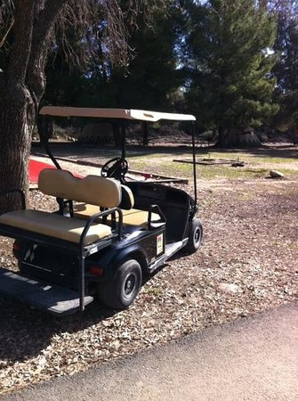 Ventura Ranch KOA: you can rent golf carts (but no need too...)