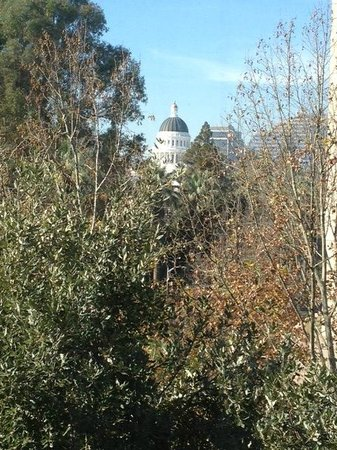Residence Inn Sacramento Downtown at Capitol Park: View of the Capitol Building from our suite windows
