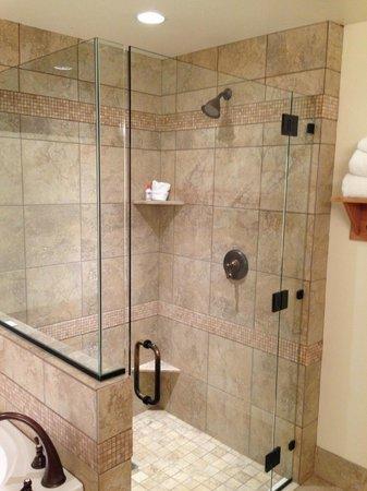 Newpark Resort & Hotel: separate shower