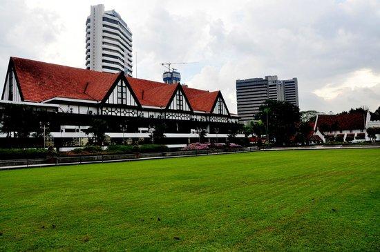 Merdeka Square: Roya Selangor Club and Bank Rakyatbuilding in background