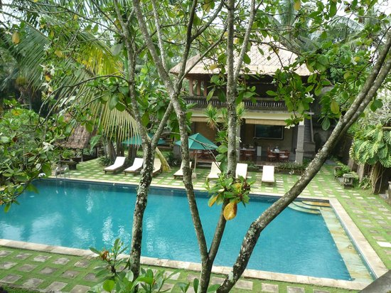 Pertiwi Resort & Spa: Pool in the back